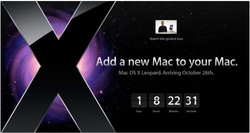 Mac OSX.5 Countdown