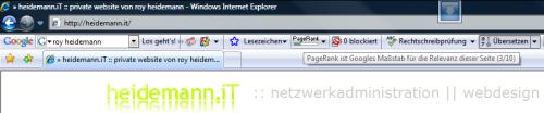 PR3 - Internet Explorer