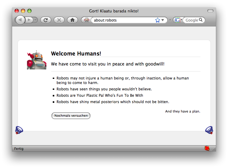 Firefox3 - about:robots